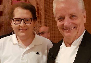 Alessandro Zamboni e Iginio Massari